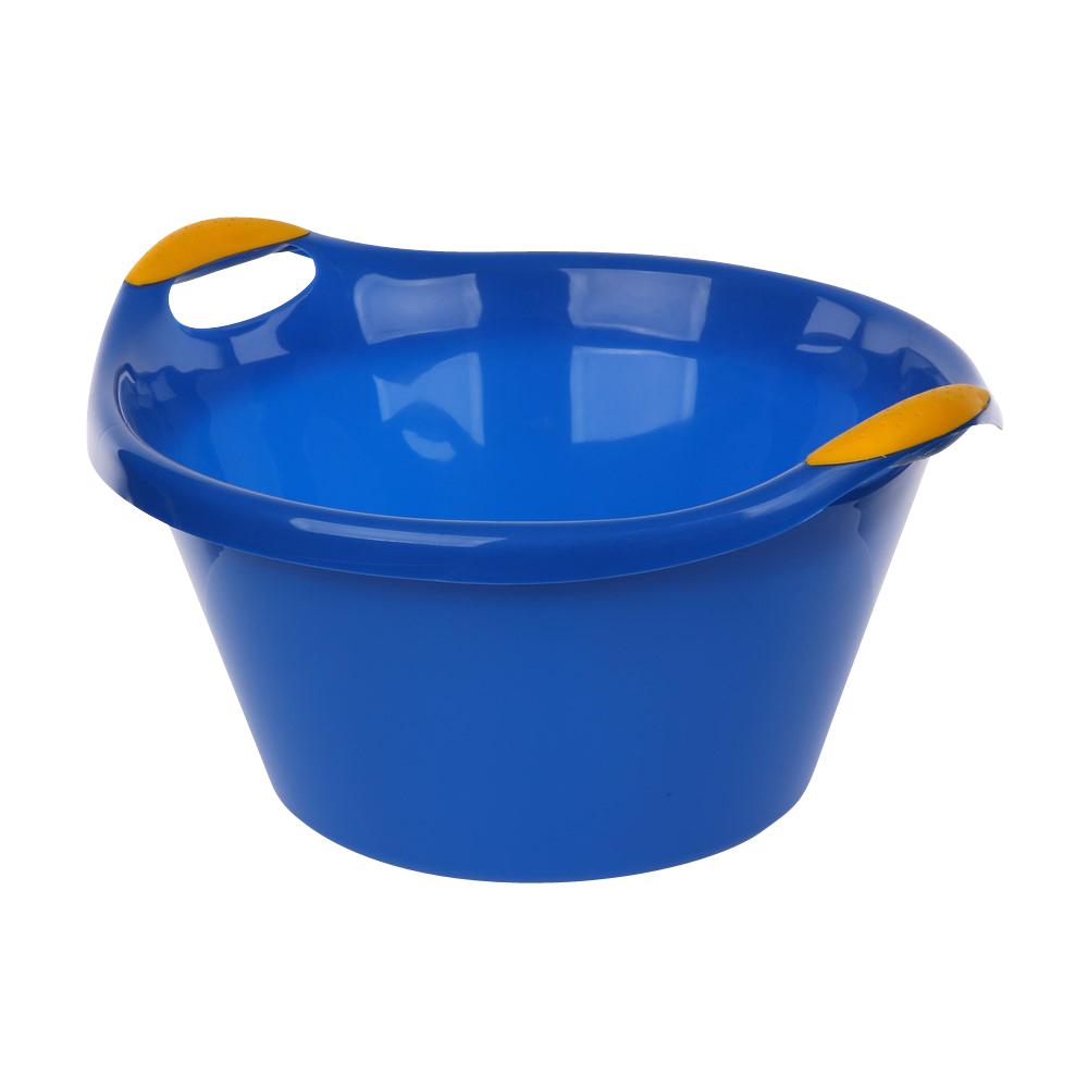 Miska plastikowa niebieska 15l