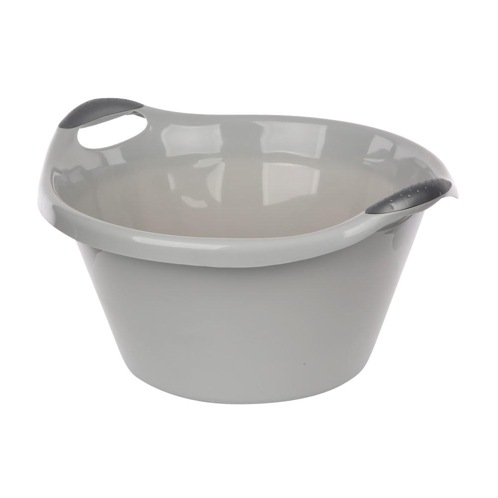 Miska plastikowa szara 15l