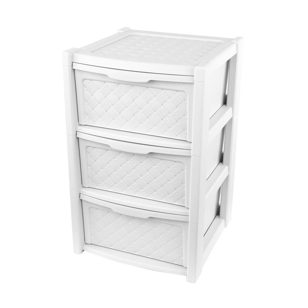 Szafka / komoda łazienkowa Arianna 3 szuflady biała