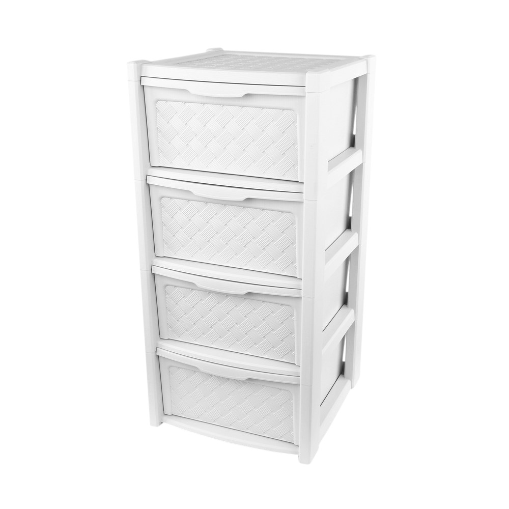 Szafka / komoda łazienkowa Arianna 4 szuflady biała