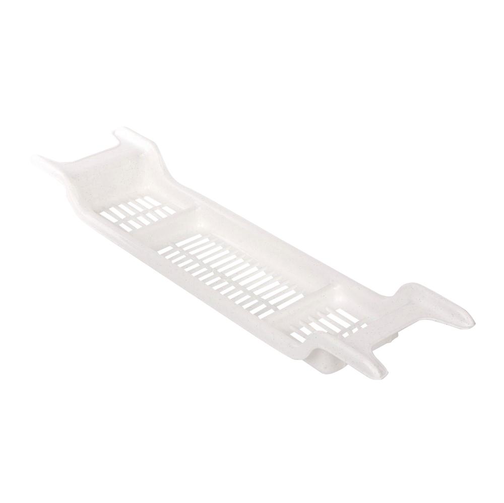 Półka łazienkowa na wannę biała