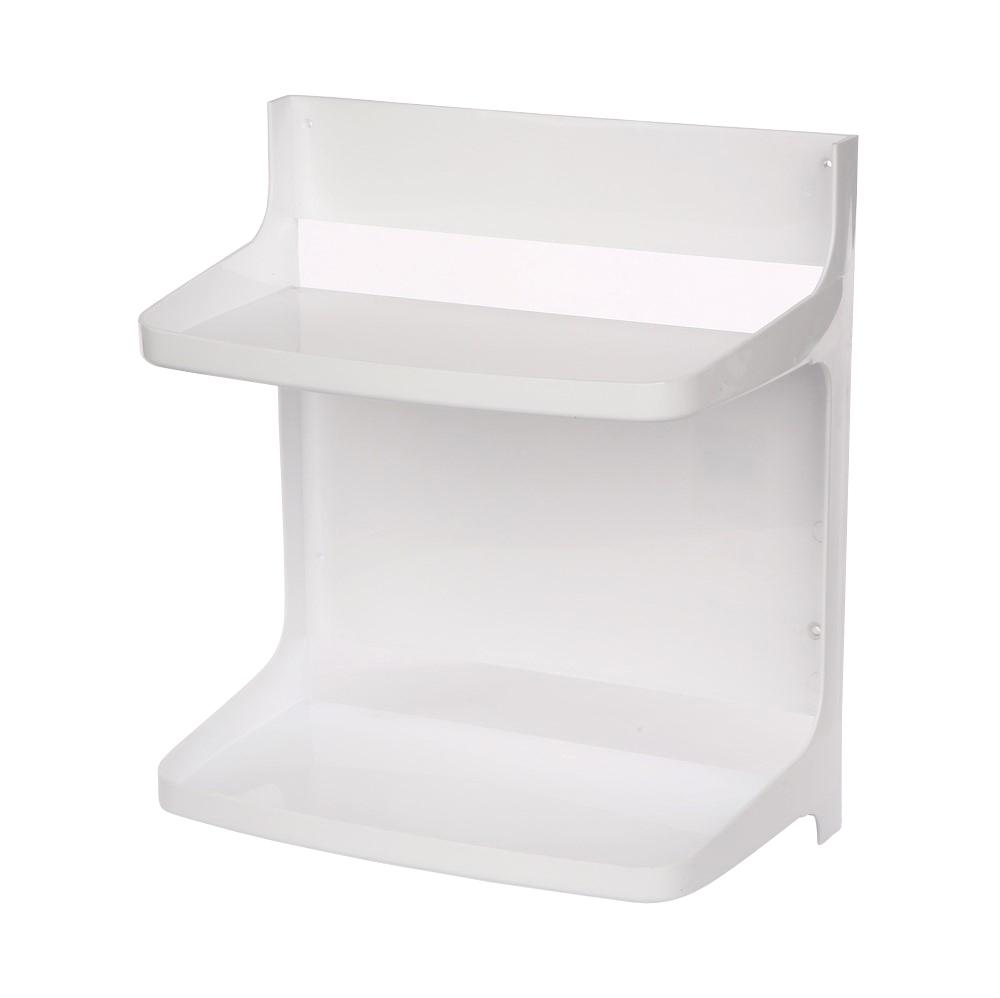 Półka łazienkowa segmentowa biała