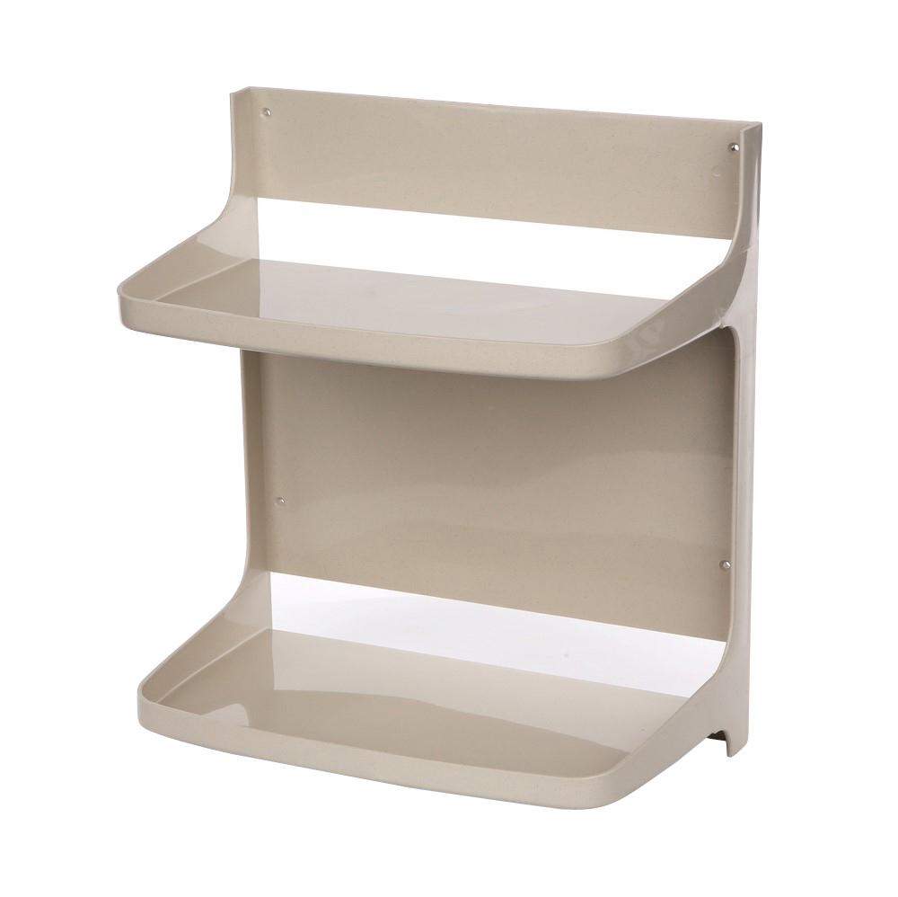 Półka łazienkowa segmentowa beżowa