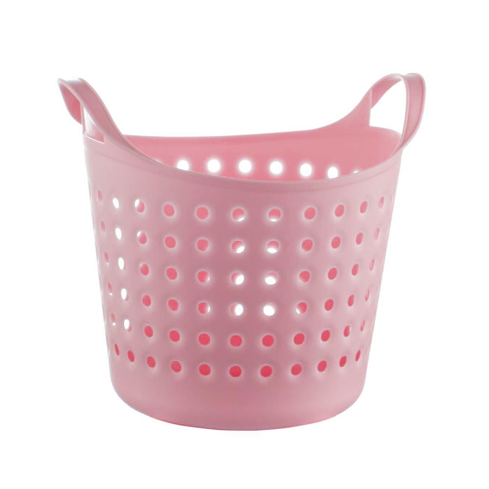 Soft basket 4,1L 24,5x20,5x22cm Pink