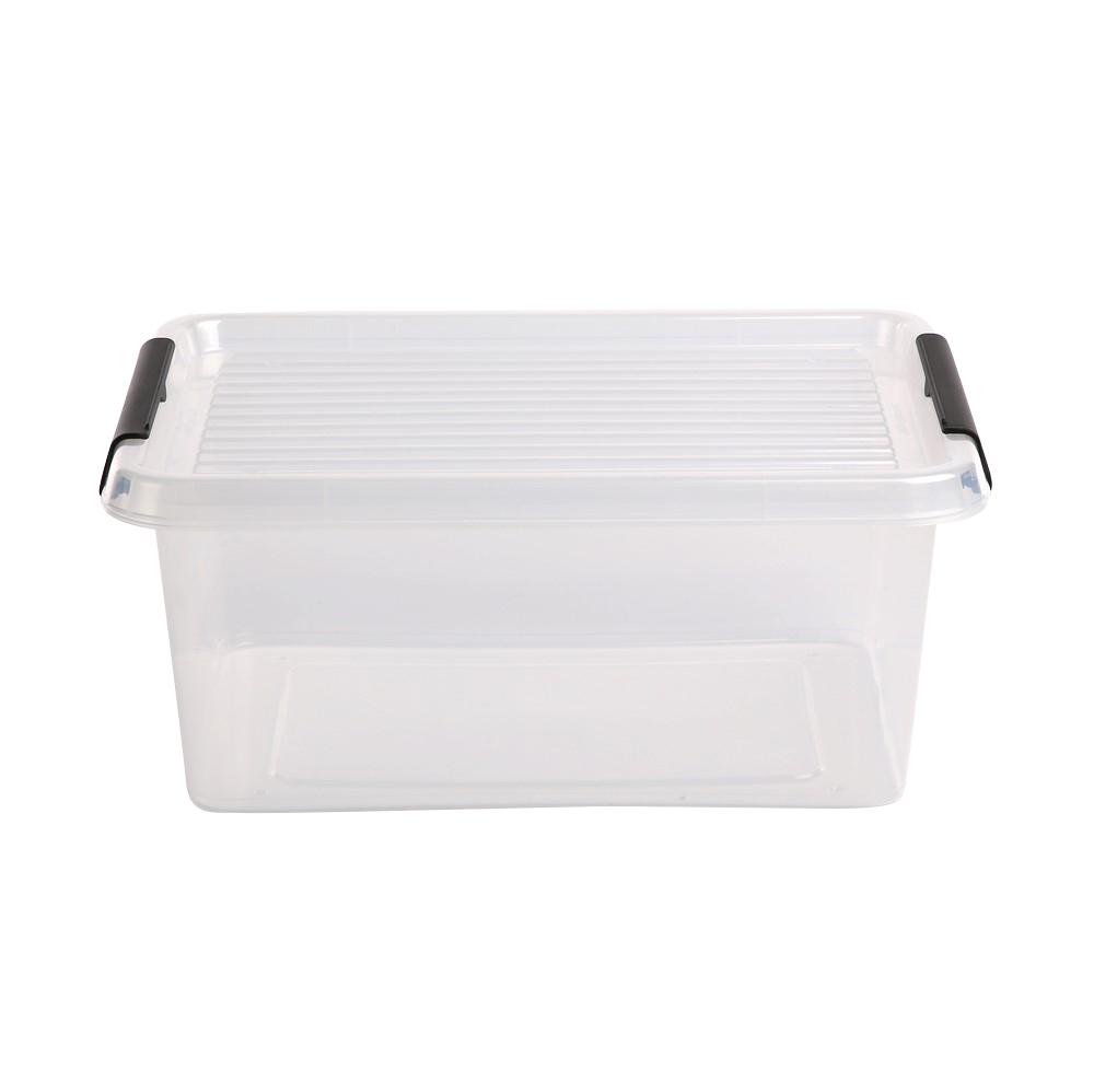 Pojemnik do przechowywania rzeczy / zabawek z pokrywką Orplast Simple Store 12,5 l / 39x29x16,5 cm