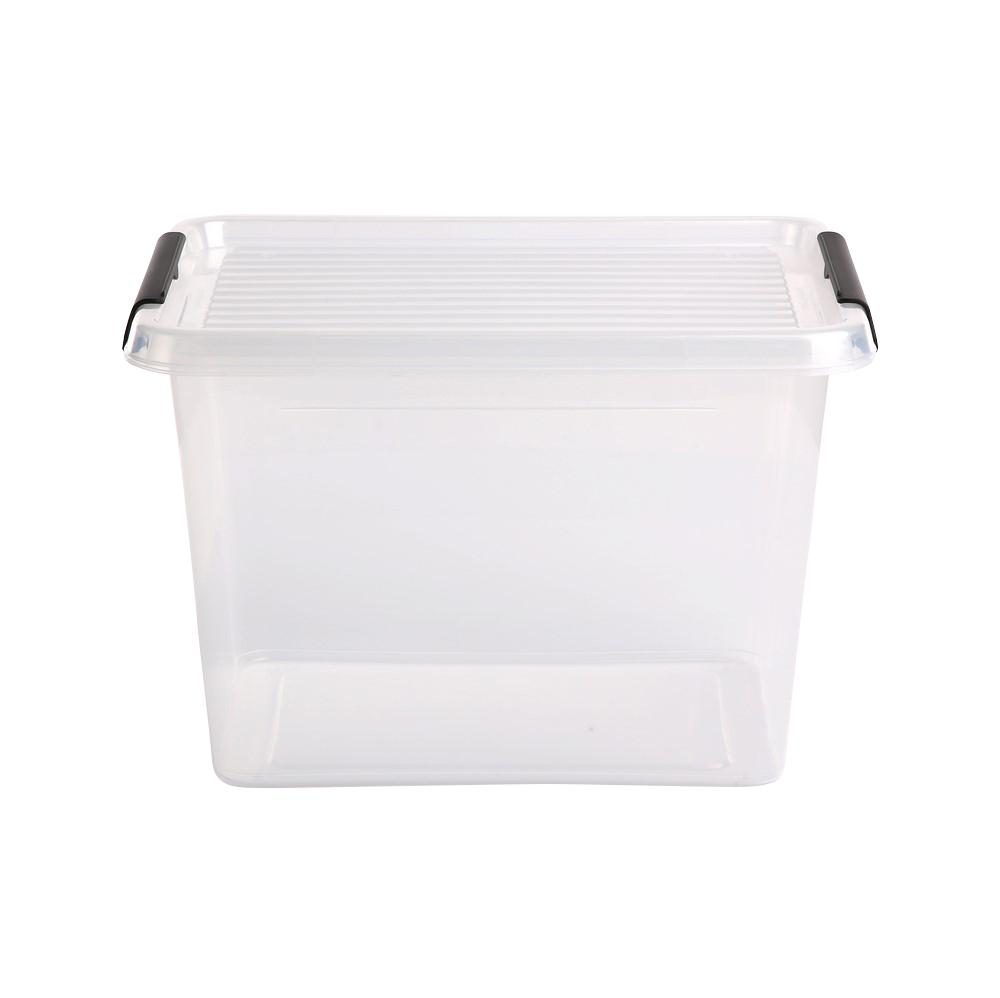 Pojemnik do przechowywania rzeczy / zabawek z pokrywką Orplast Simple Store 19 l / 39x29x26 cm