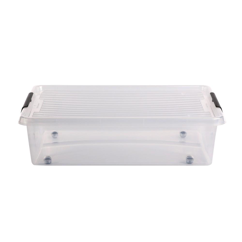 Pojemnik do przechowywania rzeczy / zabawek z pokrywką Orplast Simple Store 29 l / 58x39x16 cm