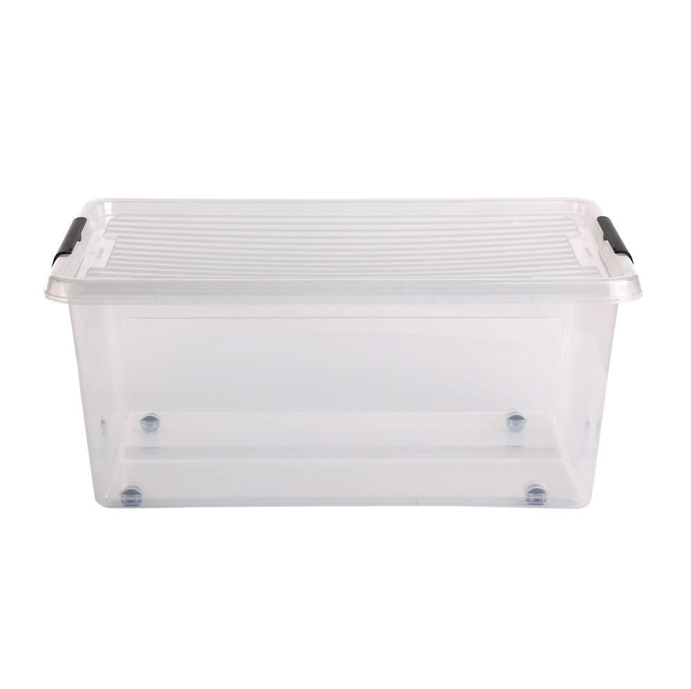 Pojemnik do przechowywania rzeczy / zabawek z pokrywką Orplast Simple Store 40 l / 58x39x25 cm