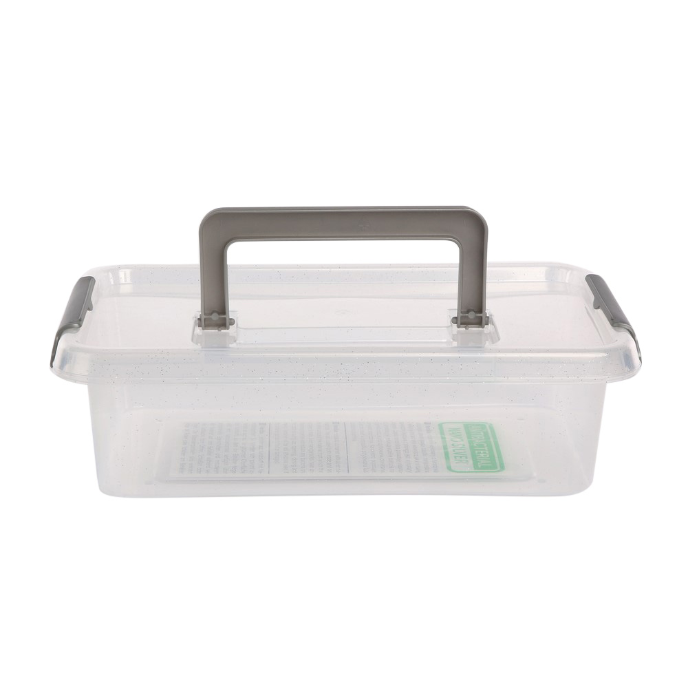Pojemnik do przechowywania żywności / na żywność / artykuły higieniczne / z pokrywką / Mikrocząstki srebra Orplast Nanobox 3,1 l