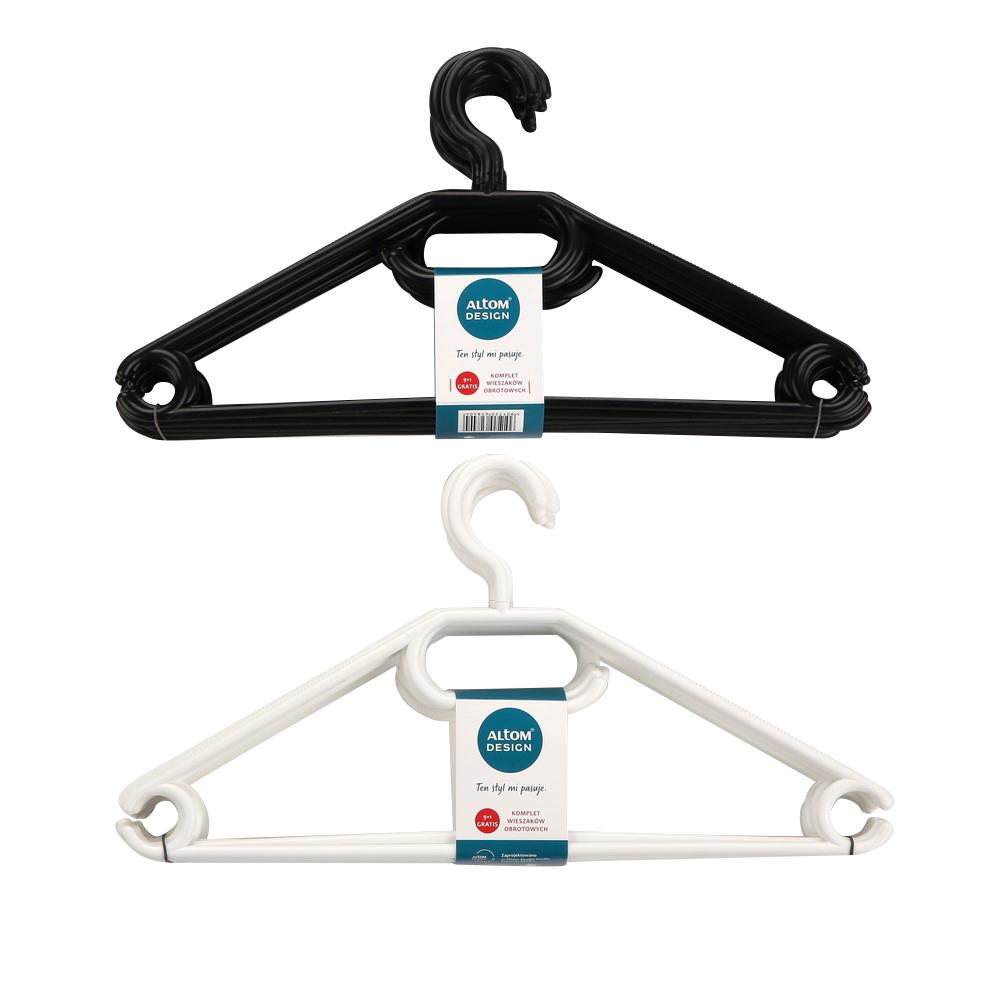 Wieszak na ubrania obrotowy MTM (10 sztuk)