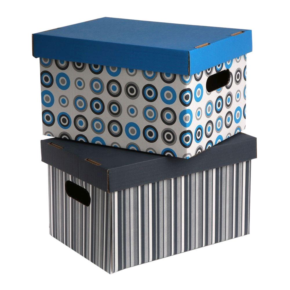 Pudełko kartonowe na zabawki / dokumenty ozdobne 31 cm