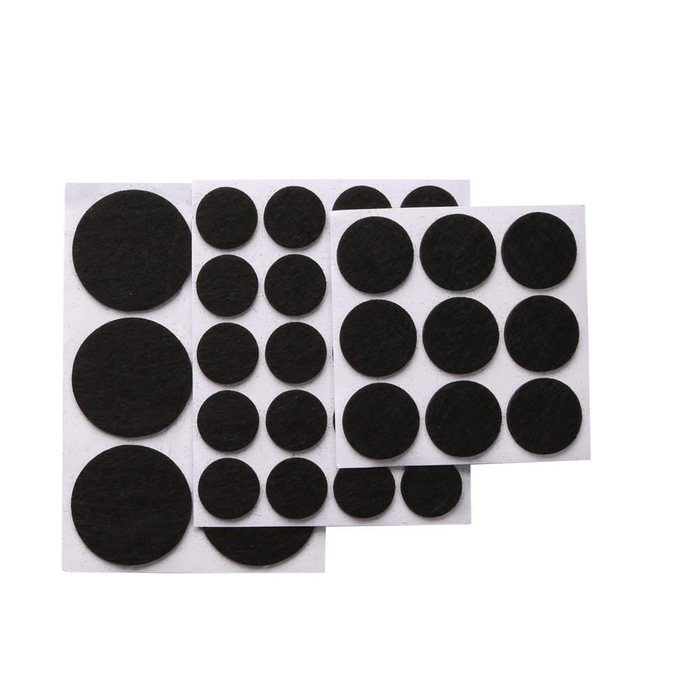Podkładki filcowe pod meble samoprzylepne (zestaw 35 szt.)