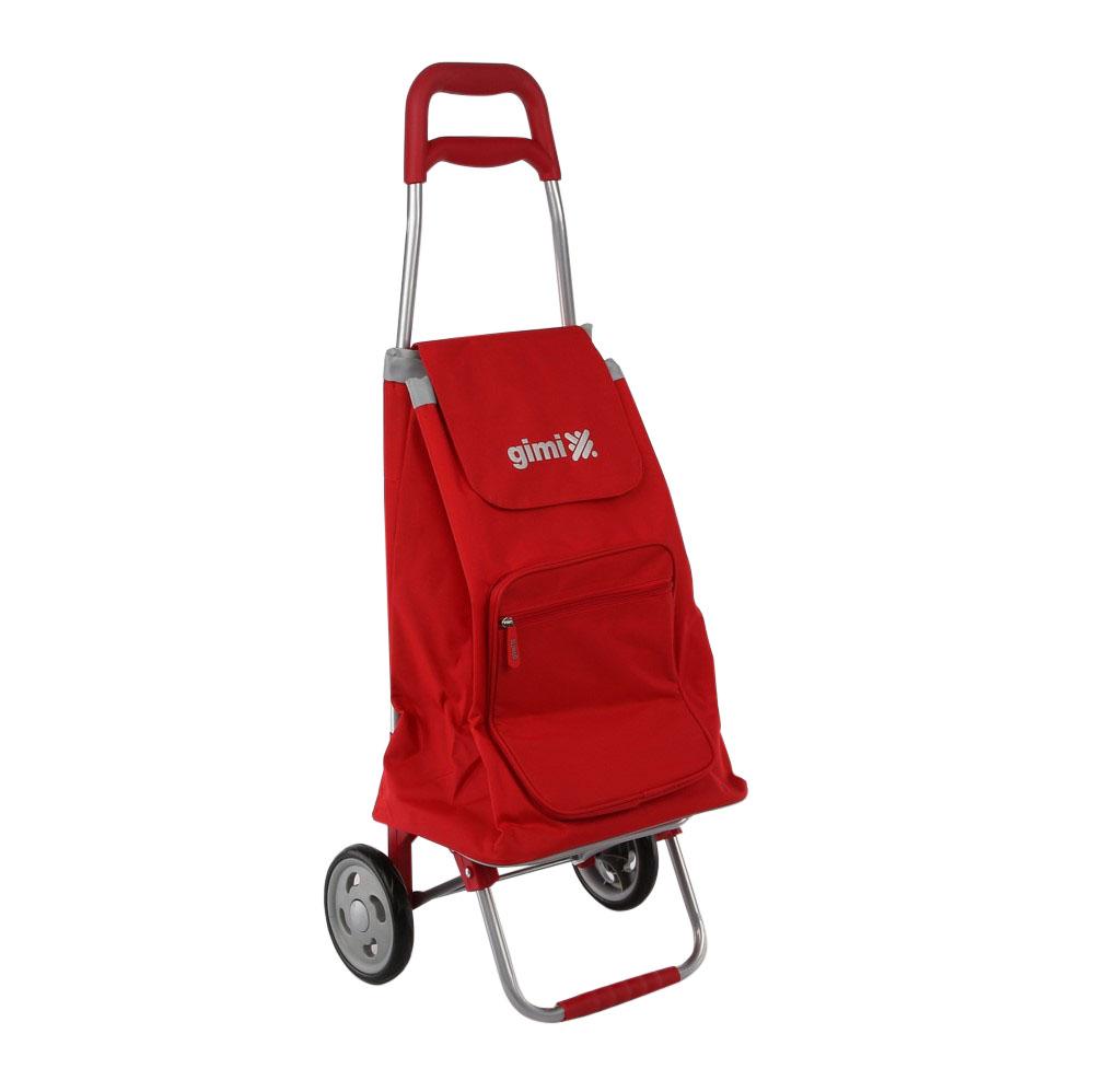 Wózek / Torba na zakupy GIMI Argo Czerwony 30 kg / 45 l