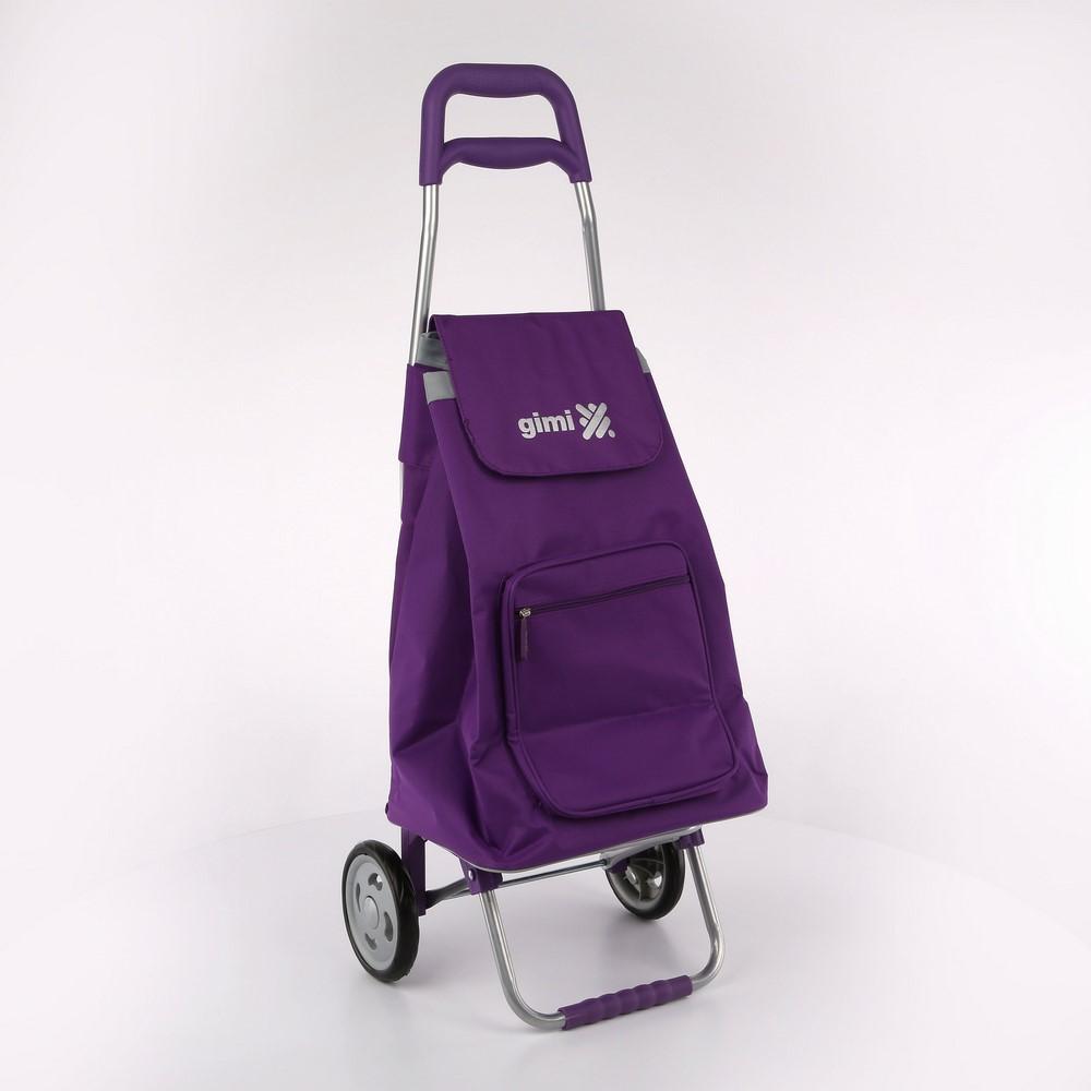 Wózek / Torba na zakupy GIMI Argo Fioletowy 30 kg / 45 l