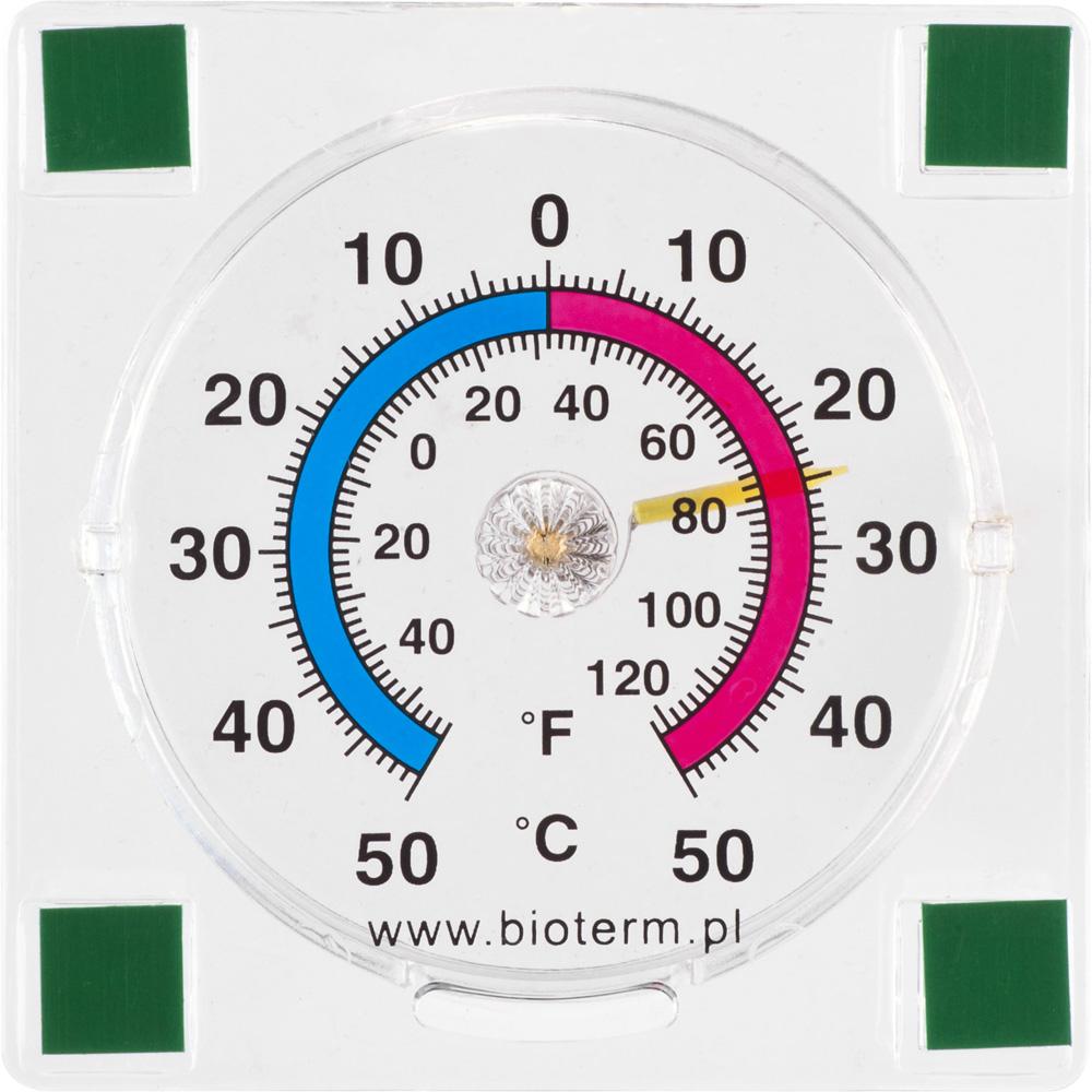 Termometr bimetaliczny na szybę Browin 7,7 cm