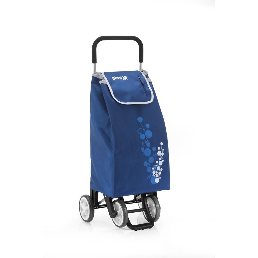 Wózek / Torba na zakupy 4 kółka GIMI Twin Niebieski 30 kg / 56 l