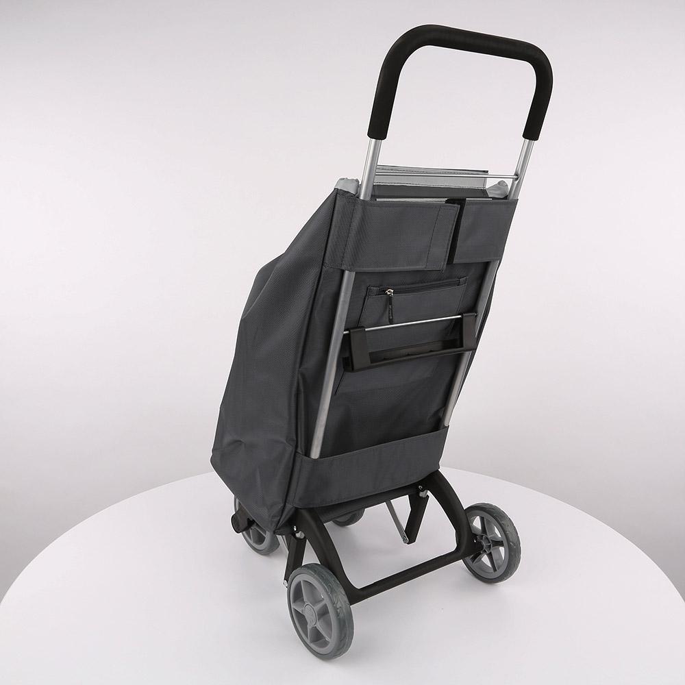 Wózek / Torba na zakupy 4 kółka GIMI Twin Szary 30 kg / 56 l