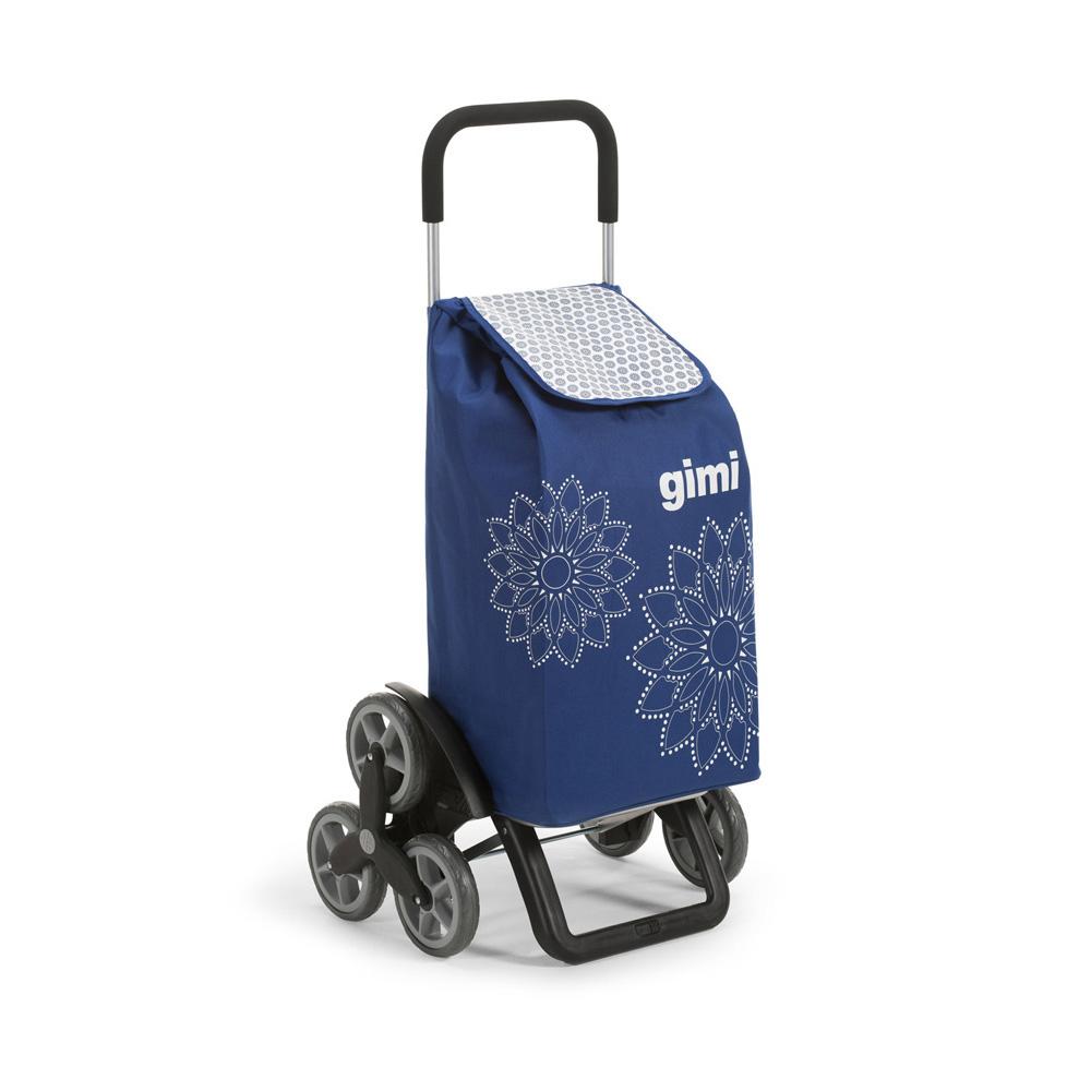 Wózek / Torba na zakupy 6 Kółek GIMI Tris Niebieski 30 kg / 56 l