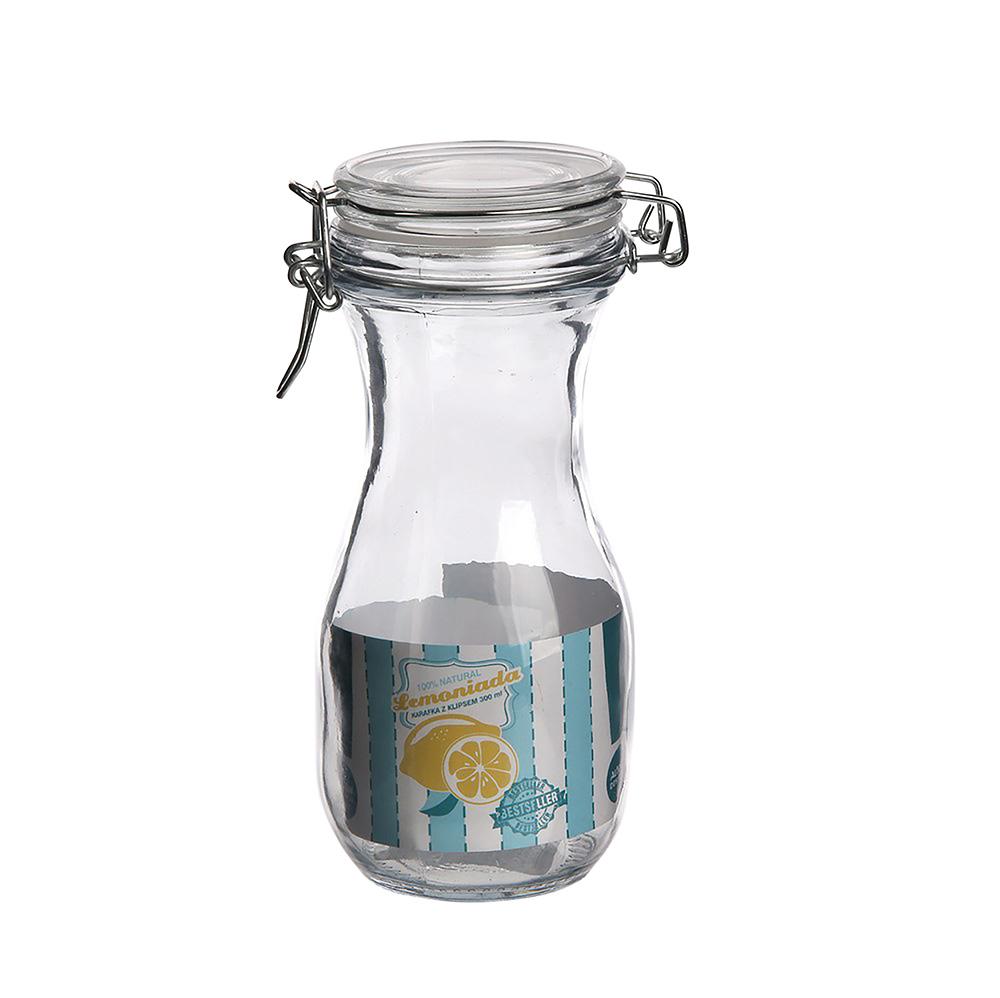 Karafka / butelka z klipsem Altom Design Lemoniada 0,3 l