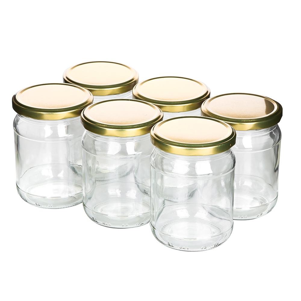 Słoiki na przetwory, miód, marynowane grzyby, konfitury i dżemy szklane typu
