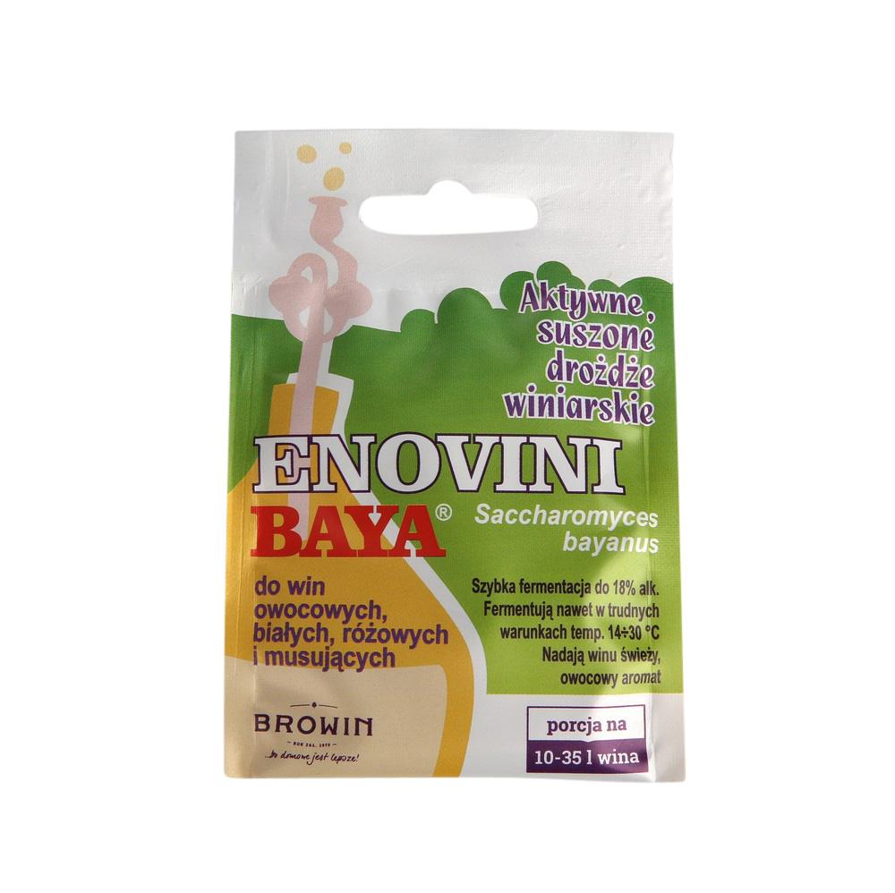 Drożdże winiarskie suszone Browin Enovini Baya 7g