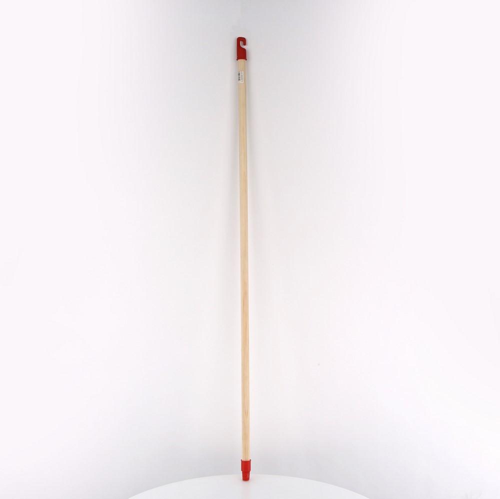 Kij do miotły drewniany z gwintem plastikowym Gomer 120 cm