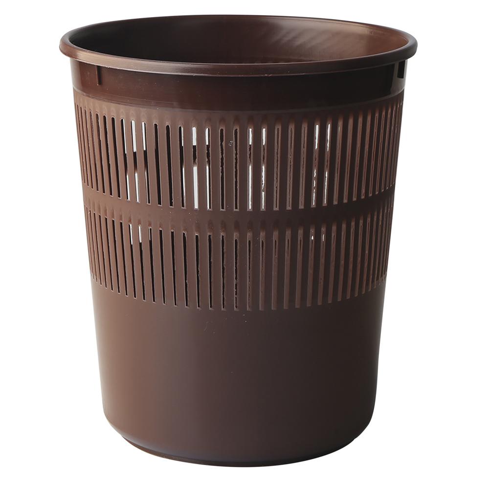 Kosz na śmieci Bentom biurowy 11 l brąz