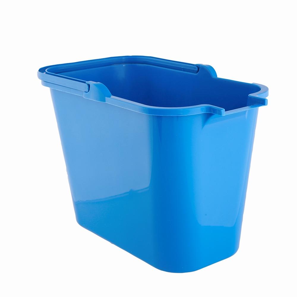 Wiadro do mopa prostokątne plastikowe Bentom 12 l niebieski