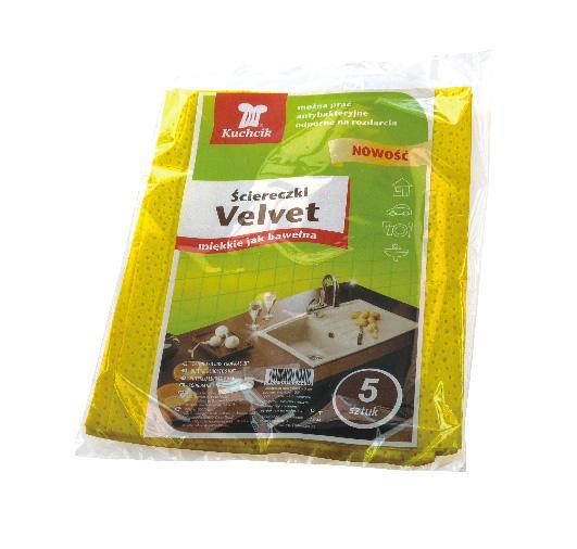 Ściereczki kuchenne AKU Kuchcik Velvet (5 sztuk)