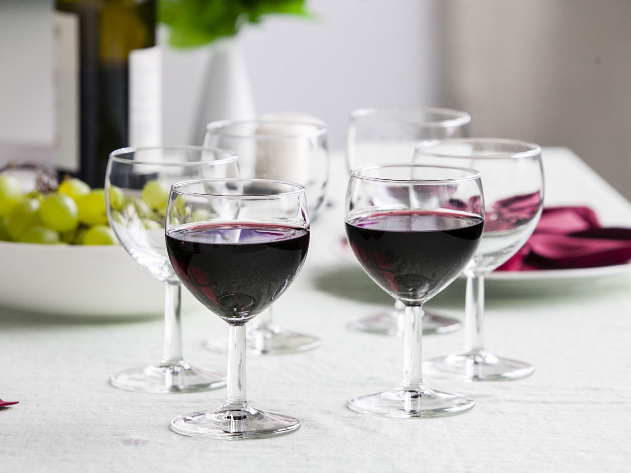 Kieliszki do wina czerwonego Royal Leerdam Ballon 250 ml zestaw 6 szt.