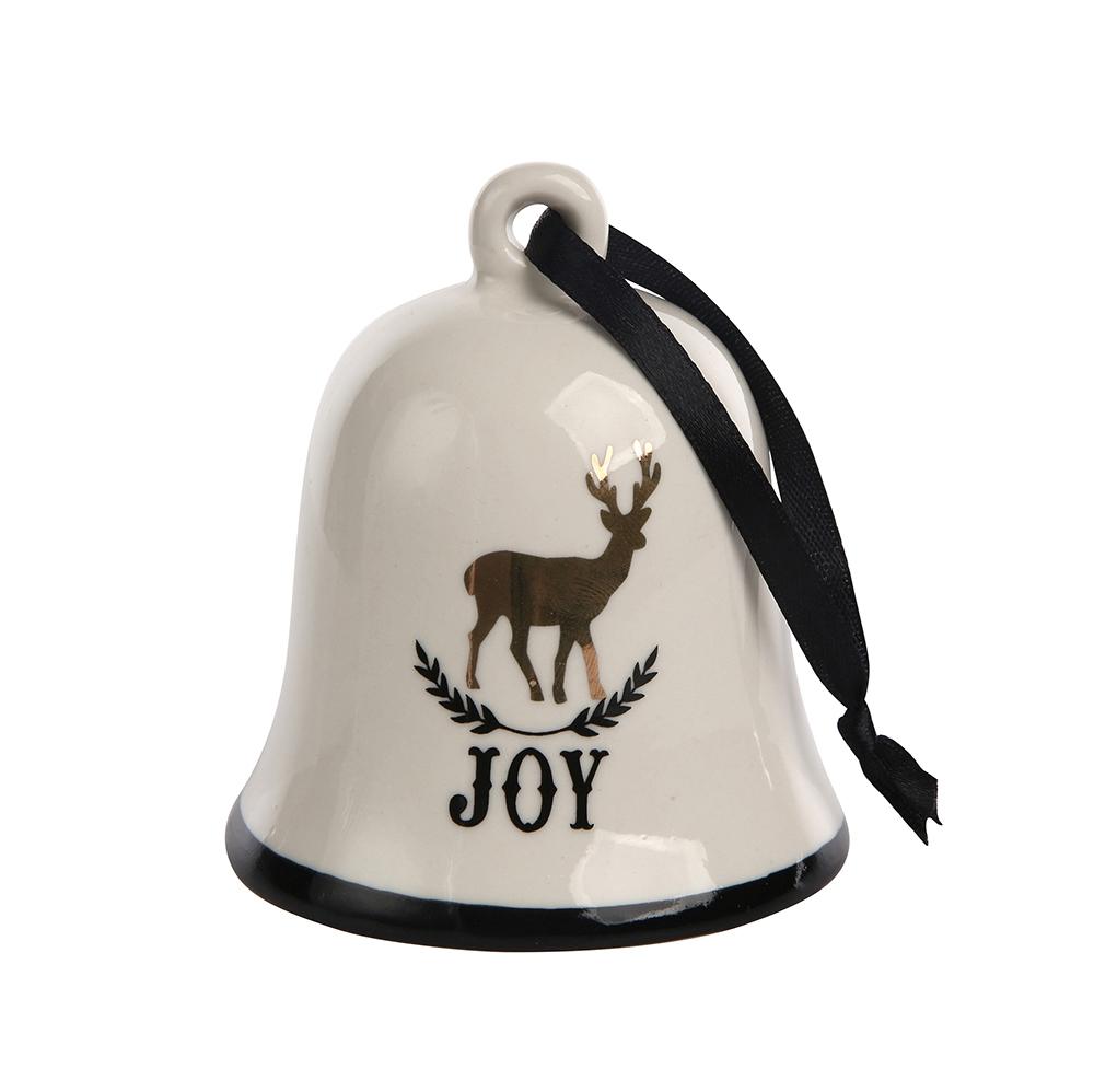 Ozdoba / dzwonek / dekoracja świąteczna Boże Narodzenie Altom Design 9x10 cm
