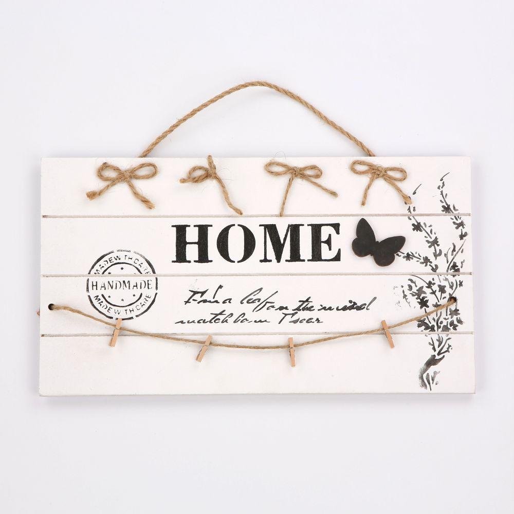 Tabliczka dekoracyjna drewniana Altom Design 38x21 cm