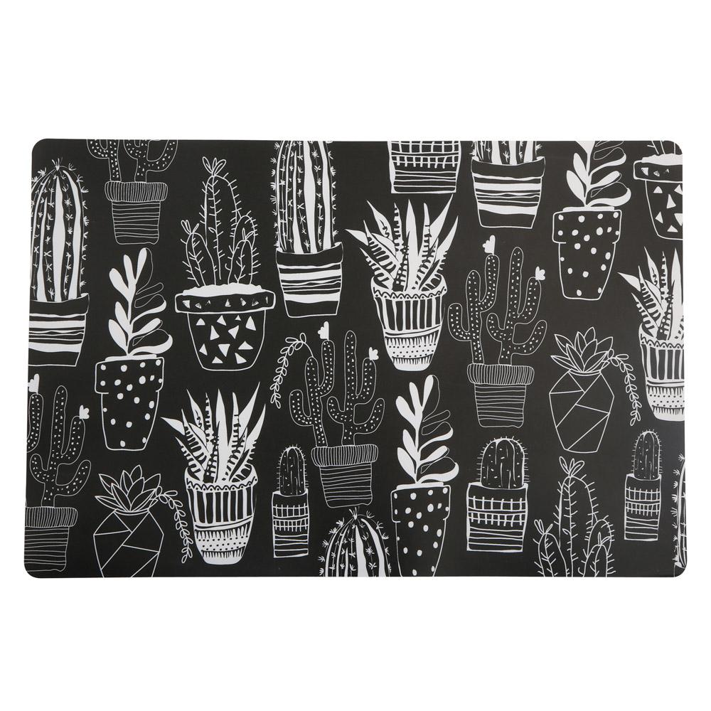 Podkładka pod talerz Altom Design Cactus czarna
