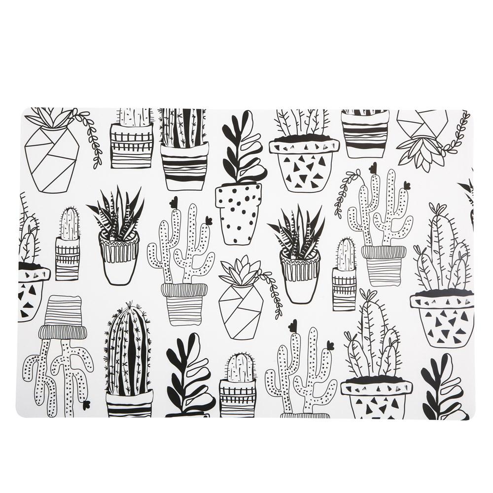 Podkładka pod talerz Altom Design Cactus biała