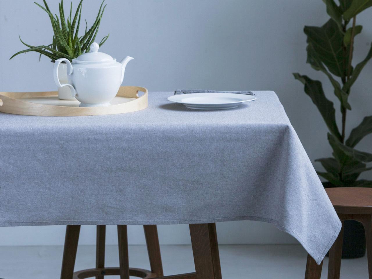 Obrus na stół Altom Design Popiel 140x180 cm