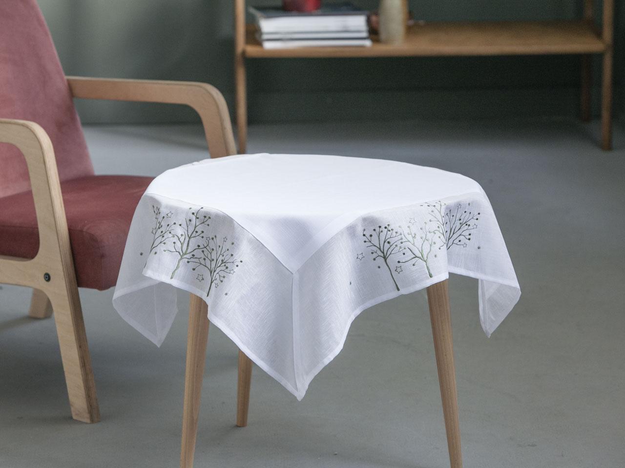 Obrus / Serweta na stół Altom Design Drzewa 80x80 cm