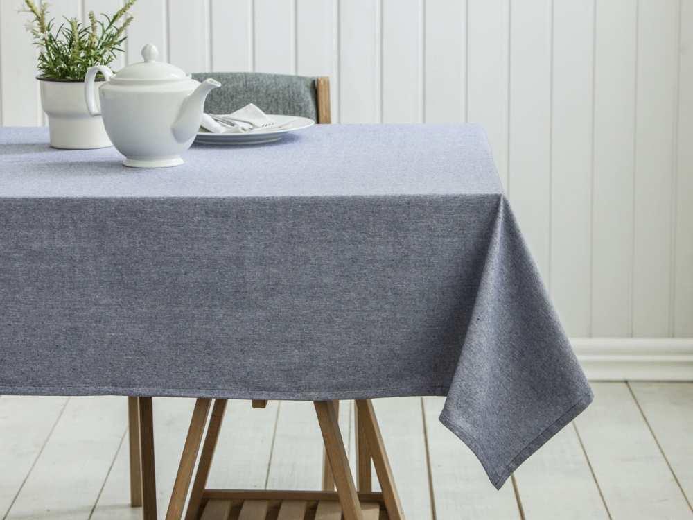 Obrus na stół Altom Design Szary 140x180 cm (100% bawełna)