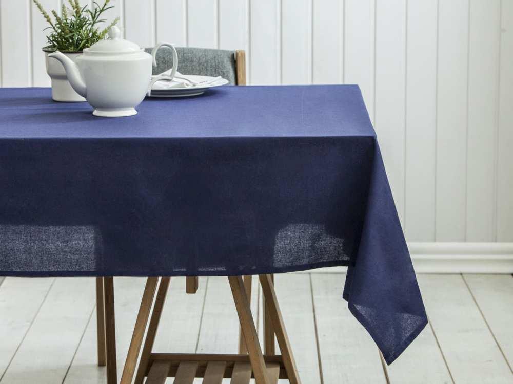 Obrus na stół Altom Design Granatowy 140x180 cm (100% bawełna)