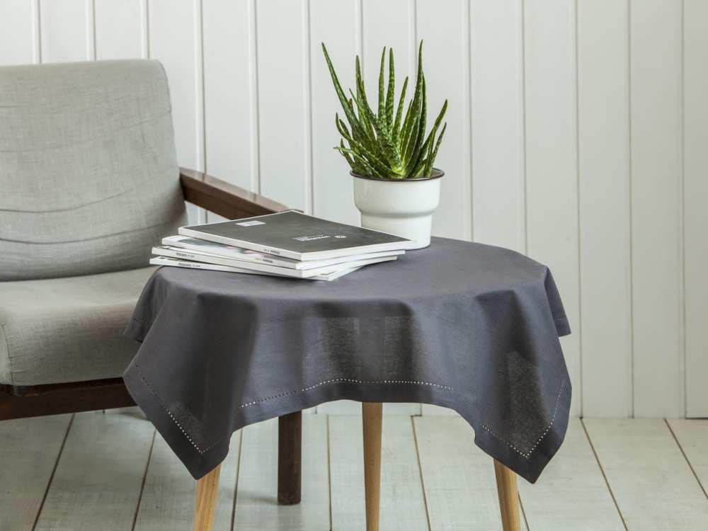 Obrus na stół Altom Design Taupe / Brązowy 80x80 cm