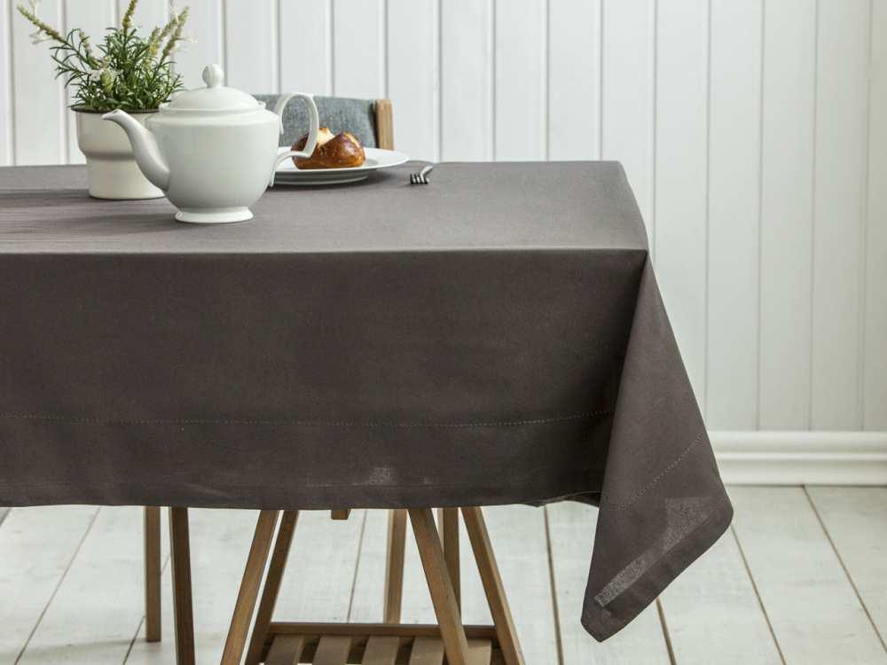 Obrus na stół Altom Design Taupe / Brązowy 160x240 cm
