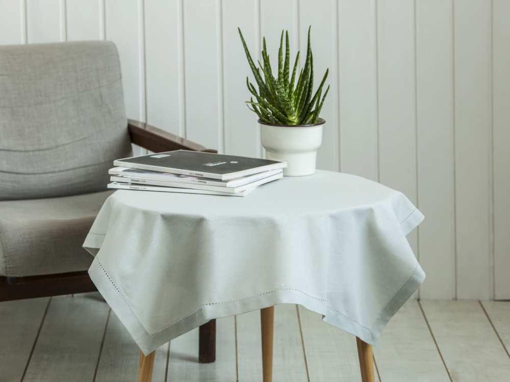 Obrus na stół Altom Design Popiel 80x80 cm