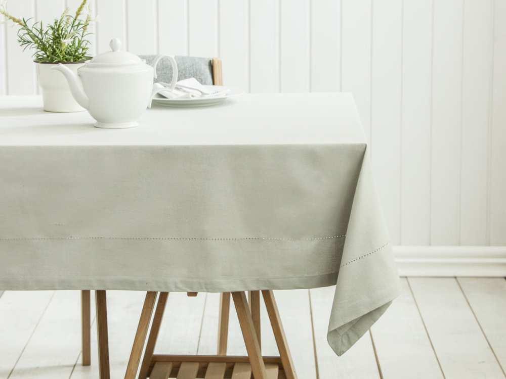 Obrus na stół Altom Design Popiel 160x240 cm