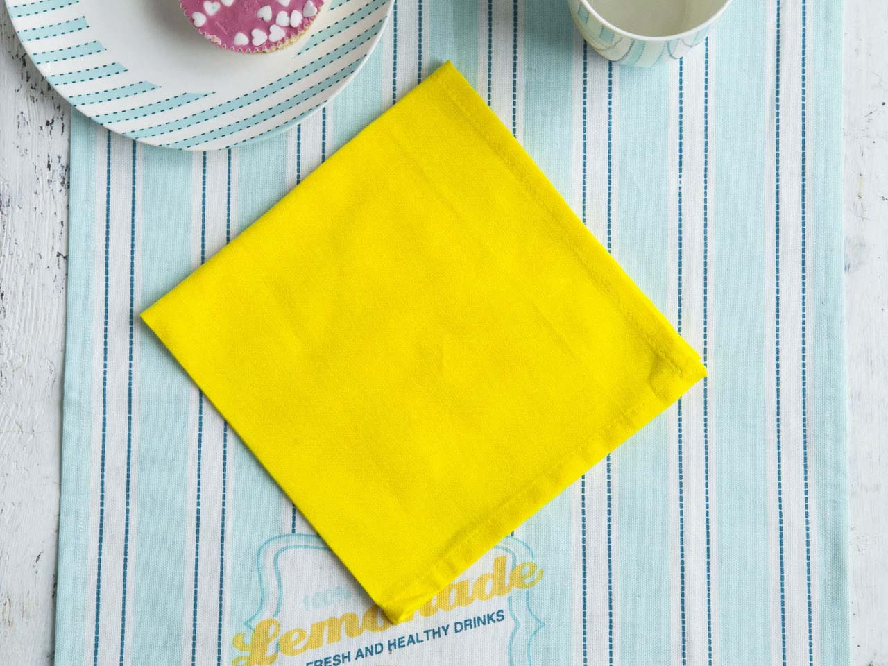 Serwetka / Serweta na stół Altom Design Żółta 40x40 cm