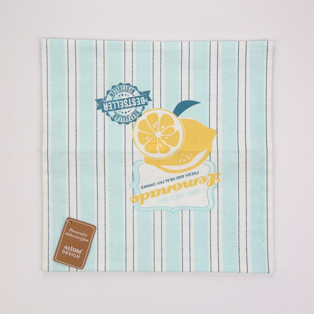 Poszewka na poduszkę Altom Design Lemoniada 40x40 cm