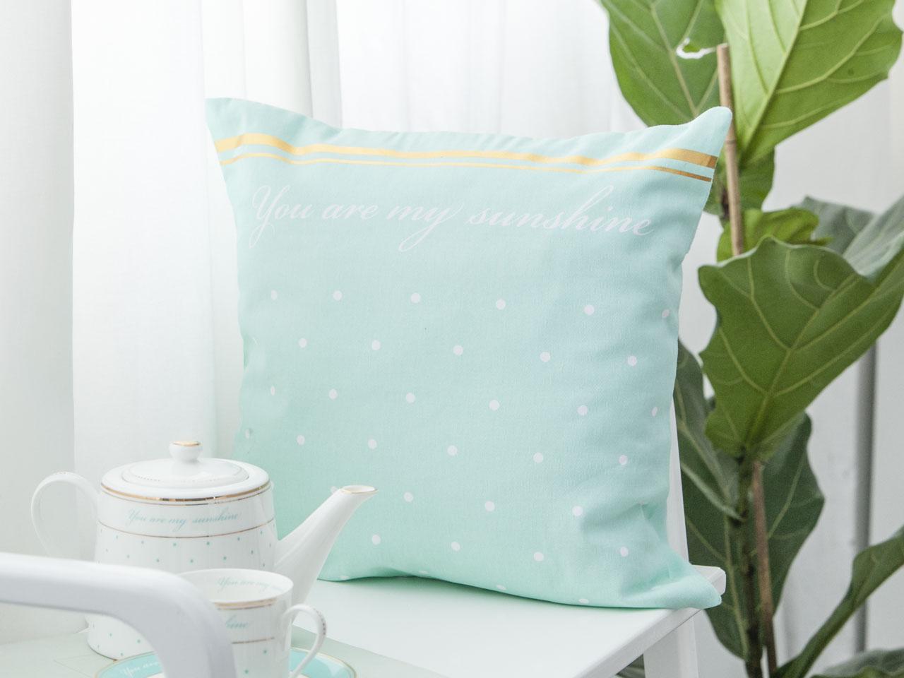 Poszewka na poduszkę Altom Designe Sunshine 40x40 cm