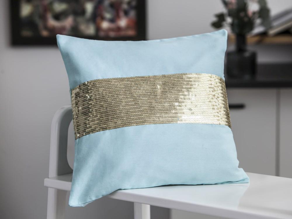 Poszewka na poduszkę Altom Design Sunshine Cekiny 40x40 cm BZ