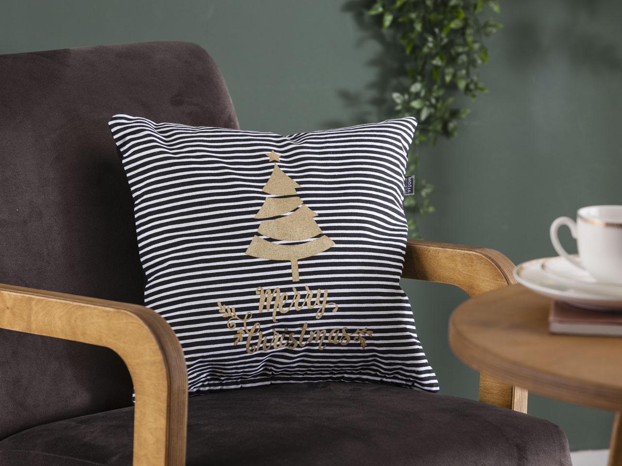 Poszewka na poduszkę dekoracyjna świąteczna Boże Narodzenie Altom Design Nordic Winter dek. I 40x40 cm