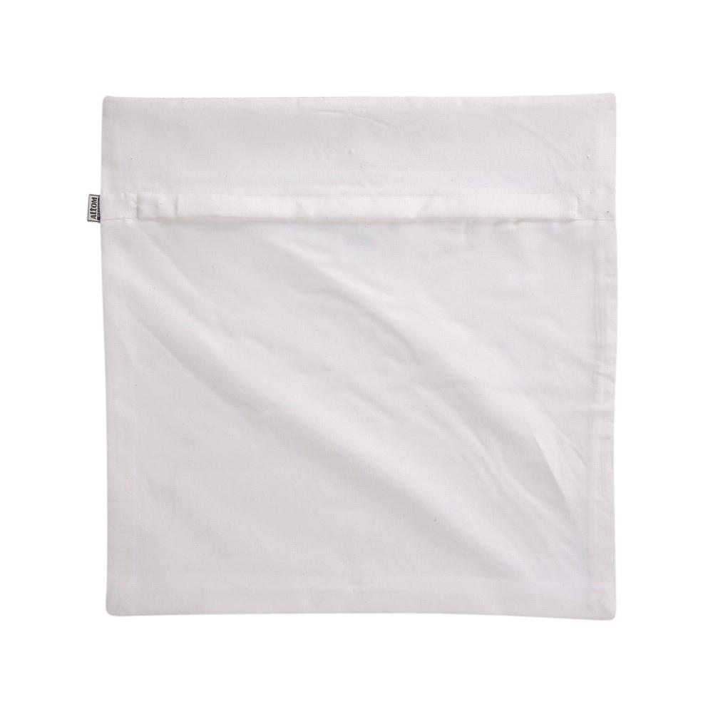 Swed polyester print foil cushion cover 40x40cm new york IV