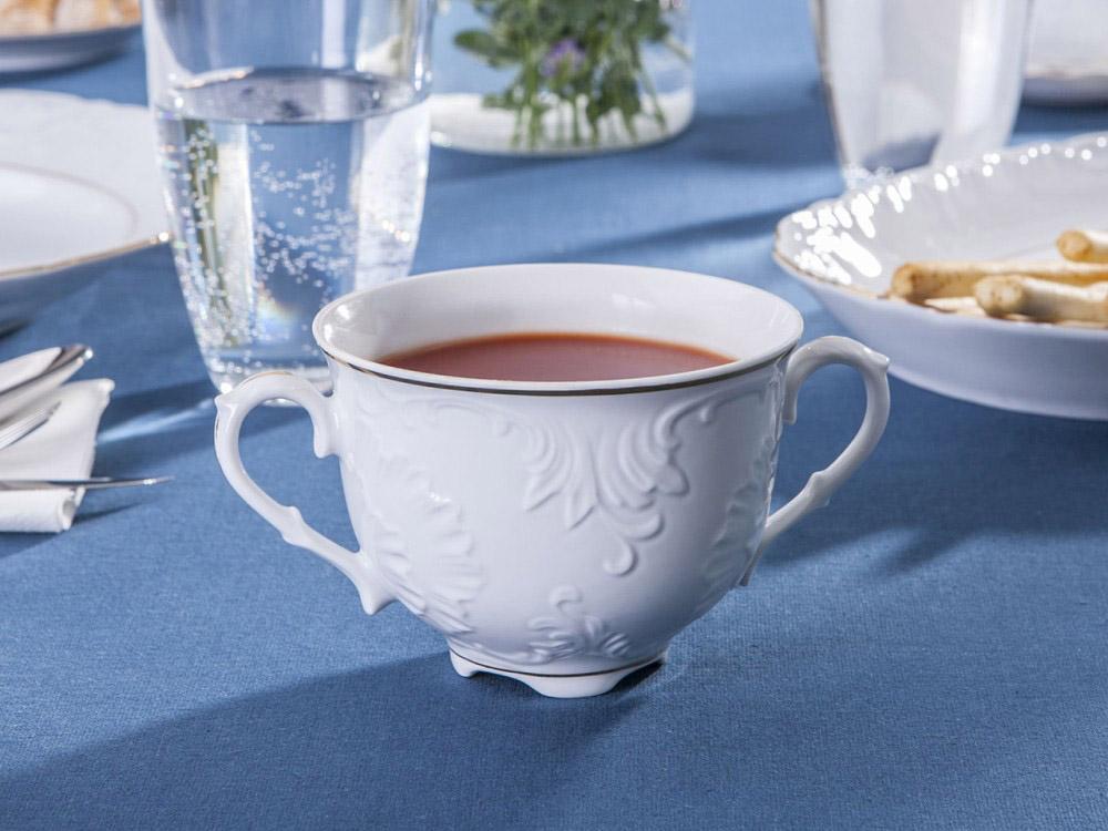 Bulionówka / flaczarka porcelana Ćmielów Rococo 3604 330 ml