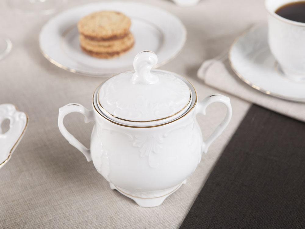 Cukiernica porcelana Ćmielów Rococo (3604) 400 ml
